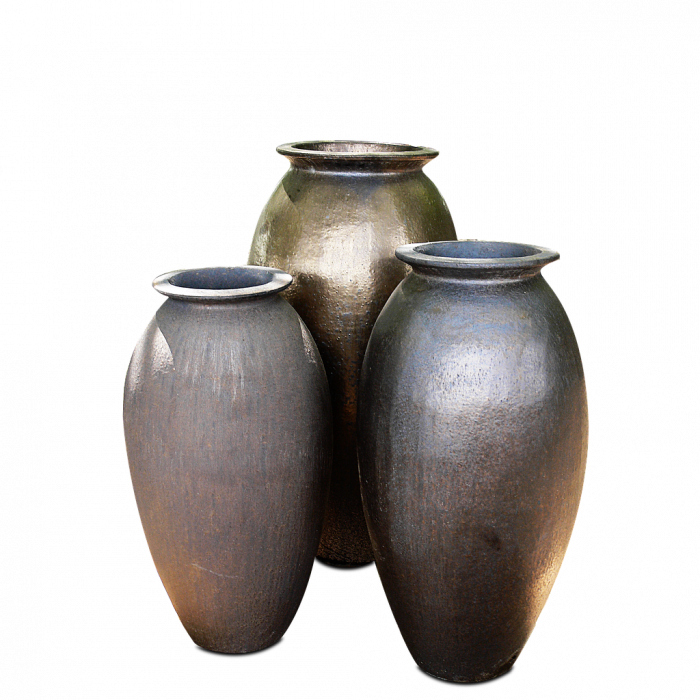 poterie roman en version bronze.