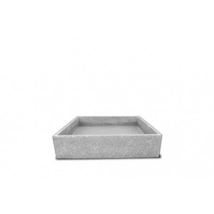 Pack terrazzo 71 cm + grille inox et pompe pour poterie