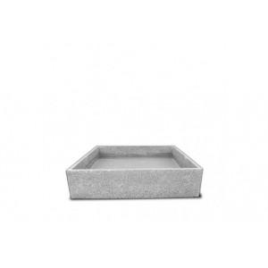 Pack terrazzo 96 cm + grille inox et pompe pour poterie