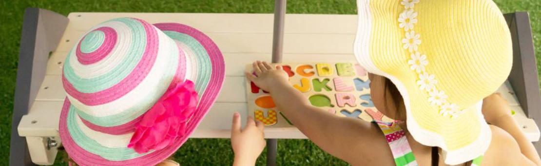 Table de pique nique et banc en bois pour enfant
