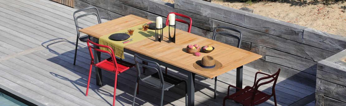 Salon de jardin, Table, Chaise : Ensembles repas complets pour jardins