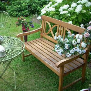 Bar et banc de jardin