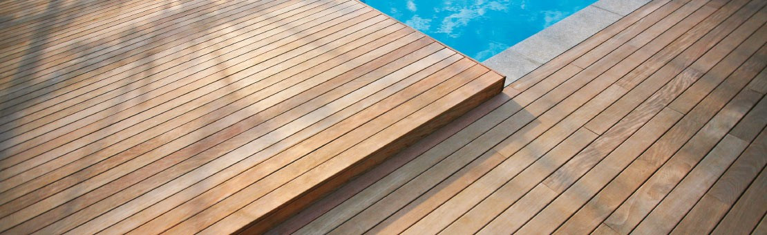 Equipements et éléments de construction pour votre terrasse en bois