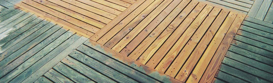 Dégriseur terrasse : retrouvez la teinte naturelle de votre terrasse