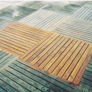 Dégriseur terrasse bois