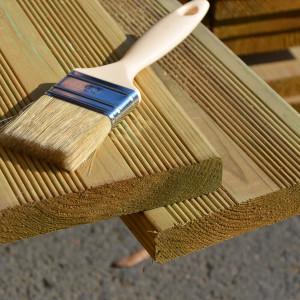 Produit de coupe bois autoclave