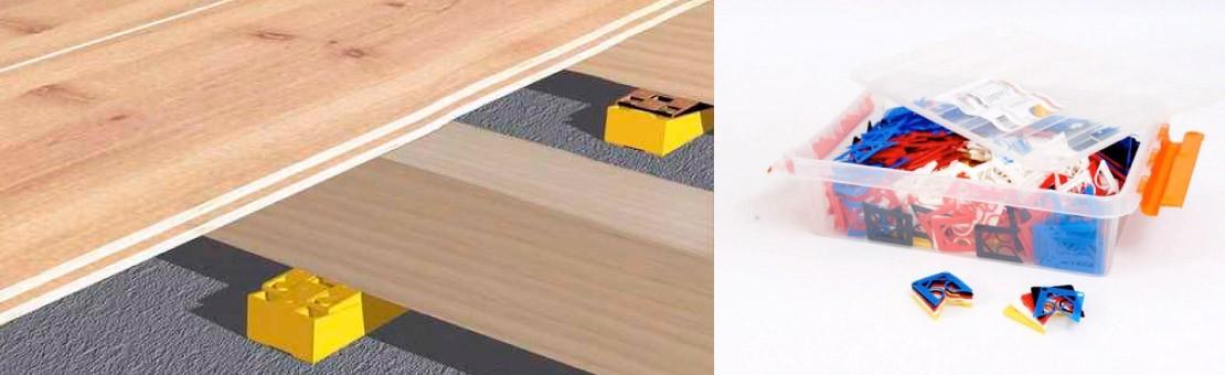 Cale terrasse bois : fixez votre terrasse avec des cales en plastique