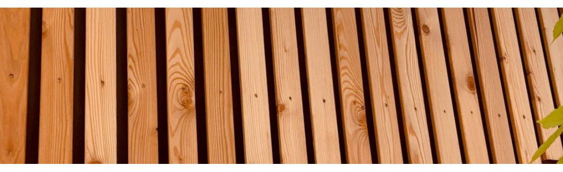 Claire voie : Constituez votre bardage en bois