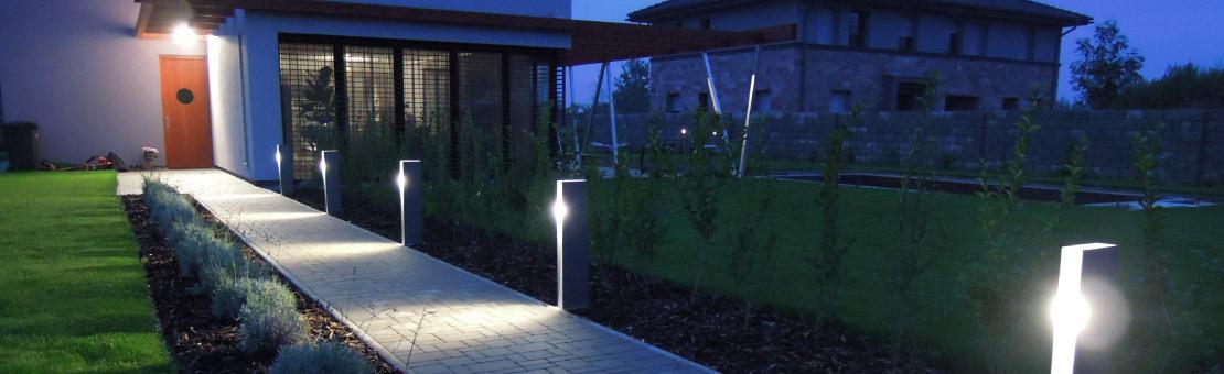 Illuminez votre jardin en optant pour la pose d'un luminaire extérieur