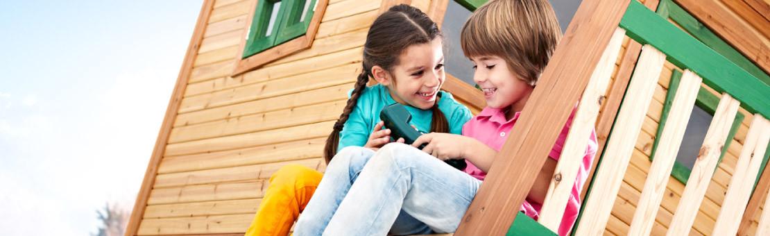Jeux d extérieur : Aires de jeux et constructions en bois pour enfants