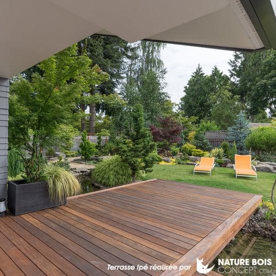 Terrasse en Ipé - Nature Bois Concept