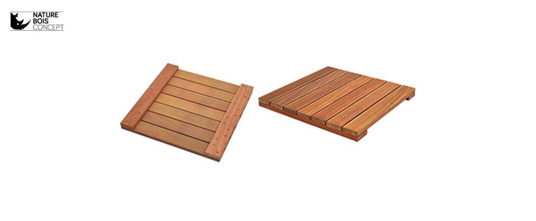 dalle pour terrasse bois