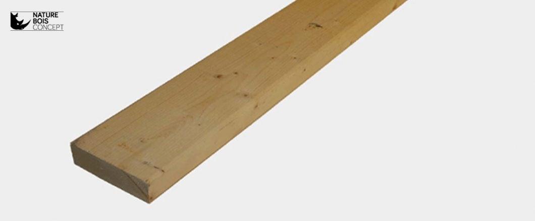 lames de bois avant transformation