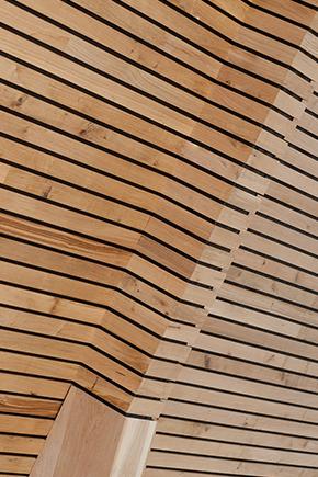bardage bois claire voie pin résineux