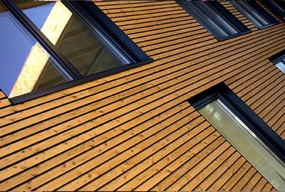 bardage bois façade de maison