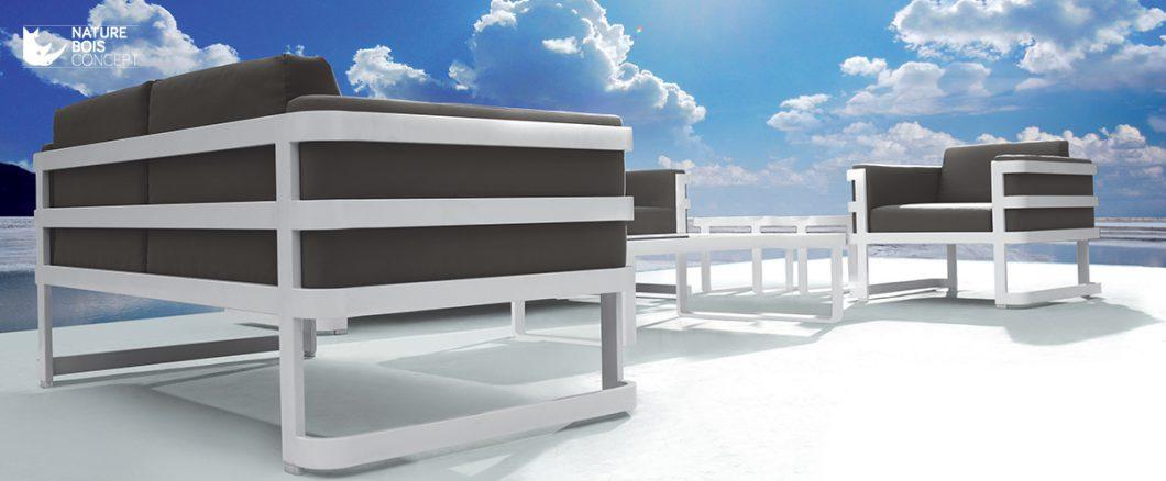 Nature Bois Concept vous propose sa gamme de mobilier de jardin