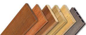 diverses essences de bois