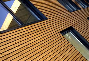 claire voie bardage bois façade