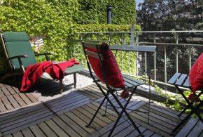 salle à manger extérieur terrasse dalle