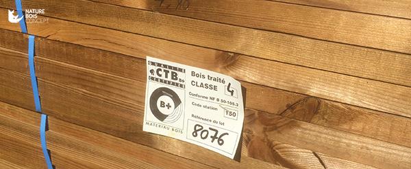 bois pin sylvestre traité autoclave classe 4