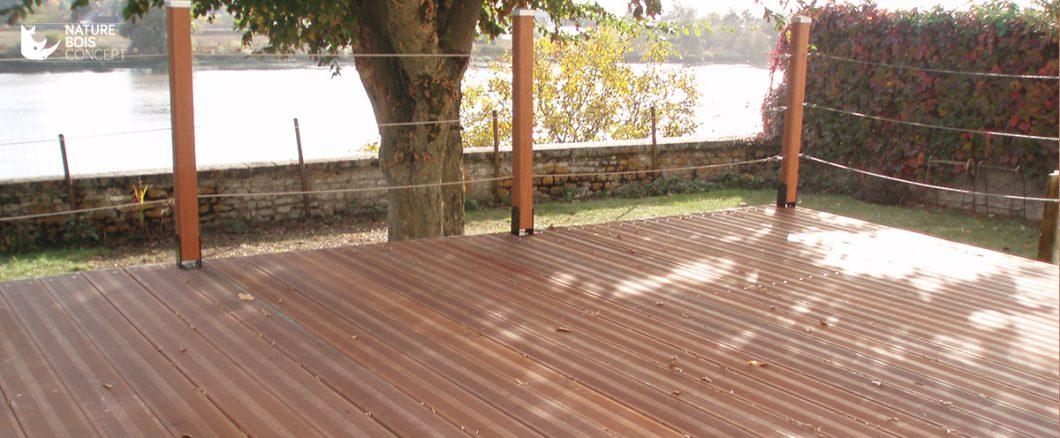 protection et terrasse bois