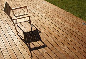 chaise et terrasse bois