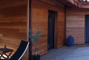 bardage bois zen et terrasse