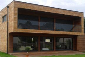 réalisation bardage bois belle maison moderne