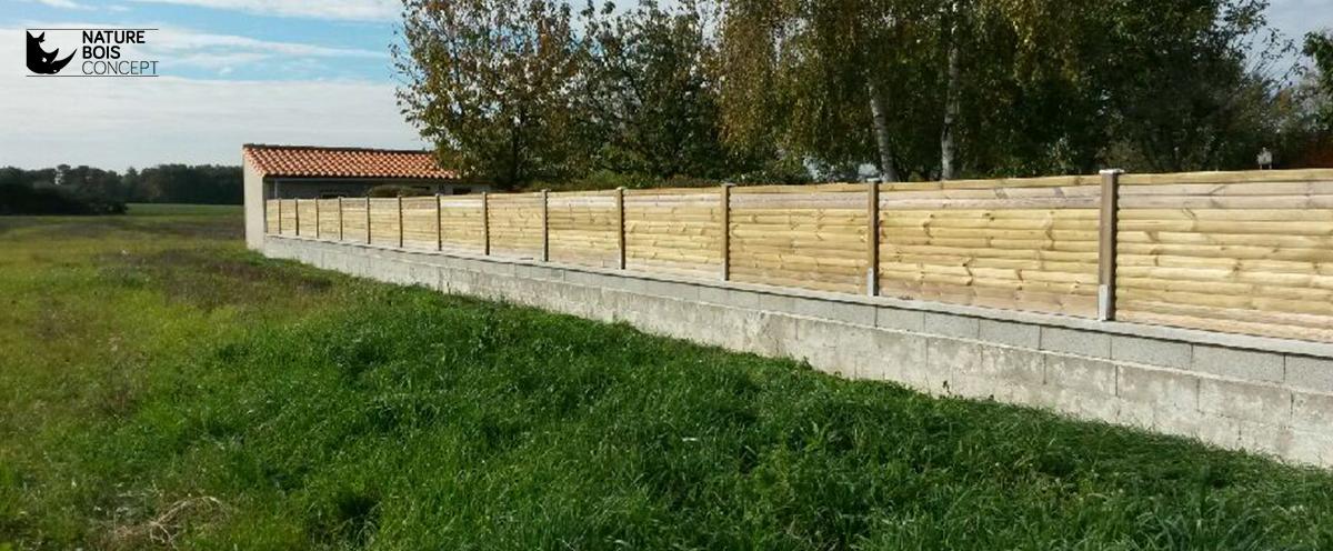 A chaque envie, sa clôture bois, guide dachat ~ Photo Cloture Bois