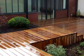 terraase bois en fixation invisible hapax fixing pro bois exotique cumaru