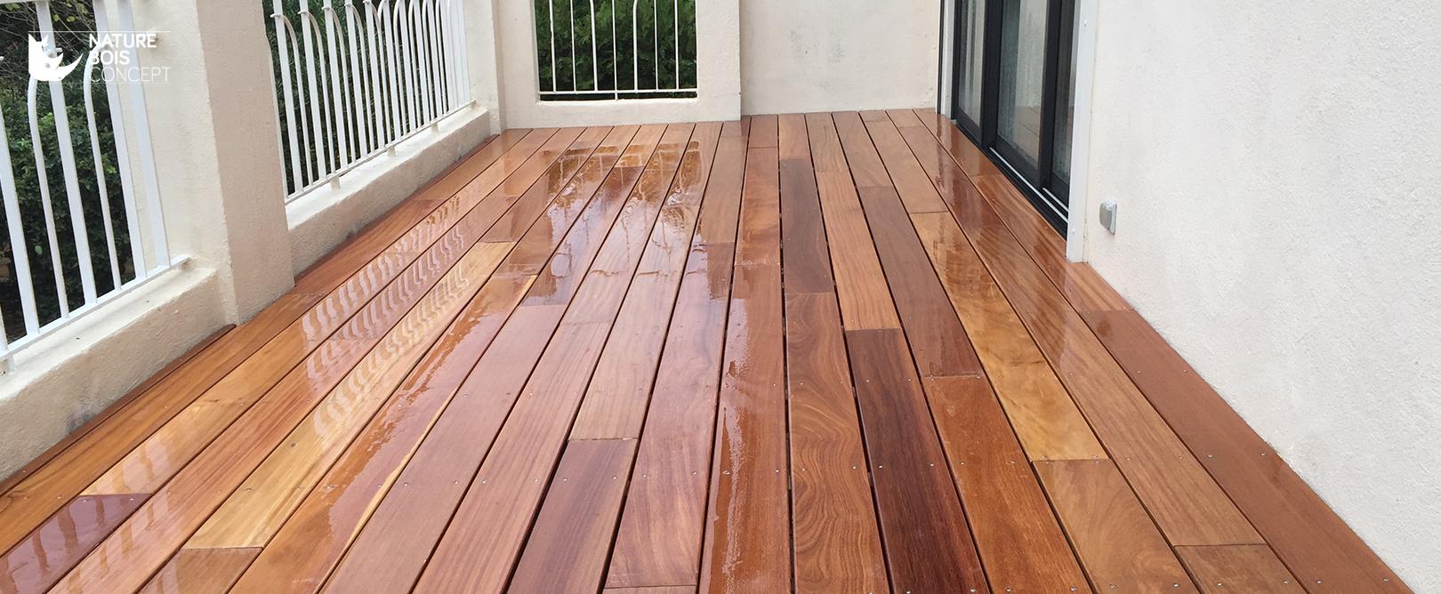 Traitement Terrasse Pin Autoclave grâce au saturateur, préservez ou redonnez de la couleur à