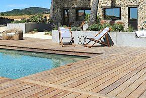 terrasse en bois cumaru d'exception sud de la france