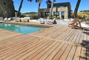 terrasse d'exception bois exotique sud de la France