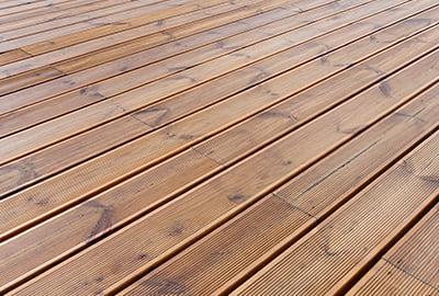 terrasse en bois résineux Pin sylvestre
