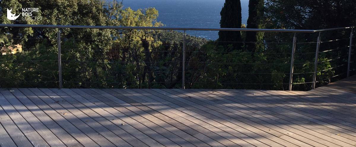 lames de terrasse en bois Frêne thermochauffé, une essence originale