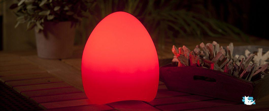 lampe multicolore musique