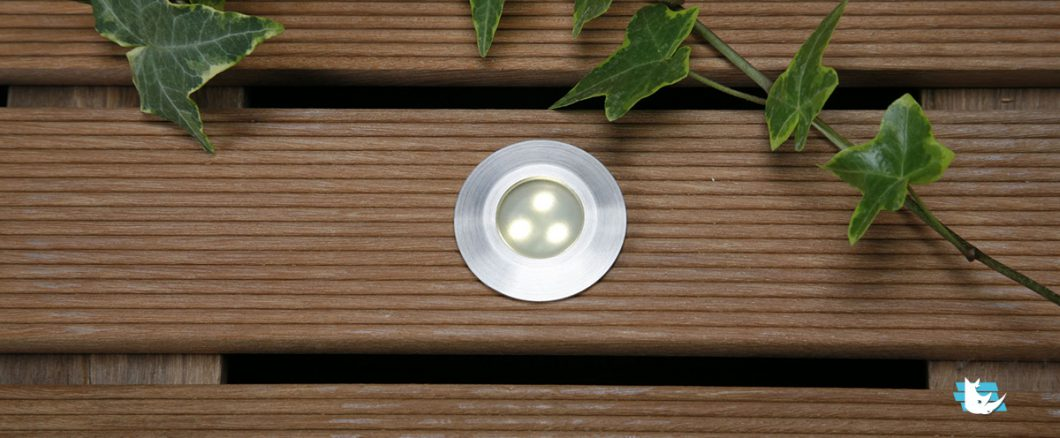 led encastrable terrasse bois