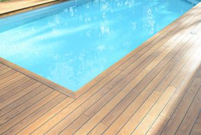 tour de terrasse en bois pont bateau