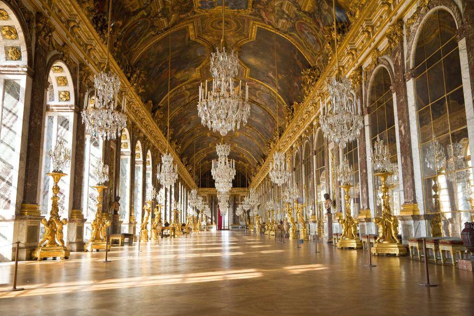Versailles et son parquet en bois