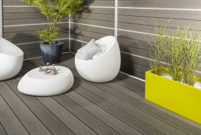 Terrasse composite Silvadec