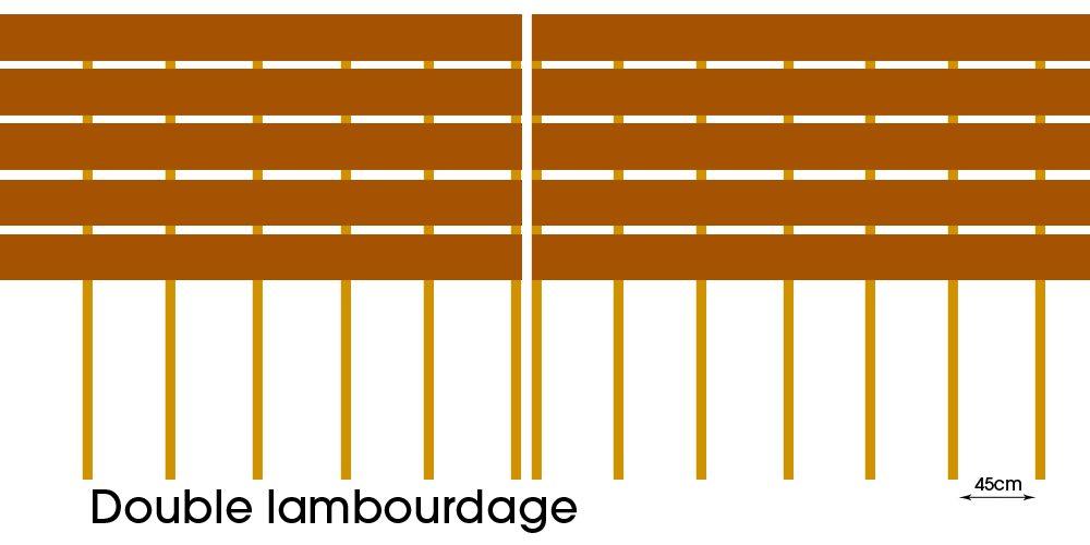 Le double lambourdage : une manière commune de poser ses lambourdes