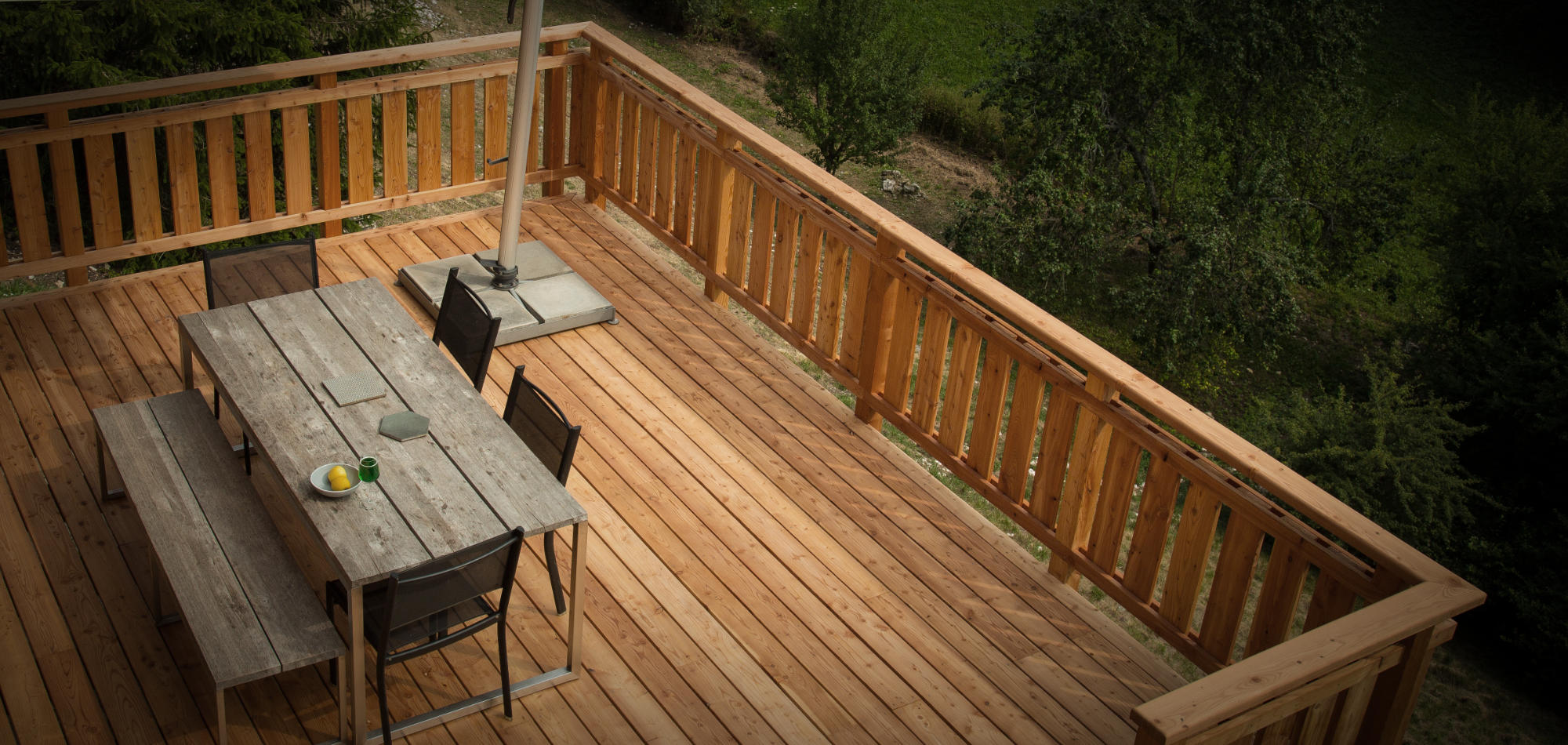 Construire Une Terrasse En Bois Surelevee construire une terrasse en bois sur pilotis
