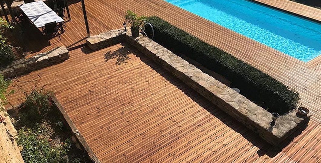 Terrasse en pin