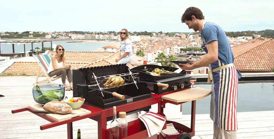 Plancha et barbecue Le Marquier