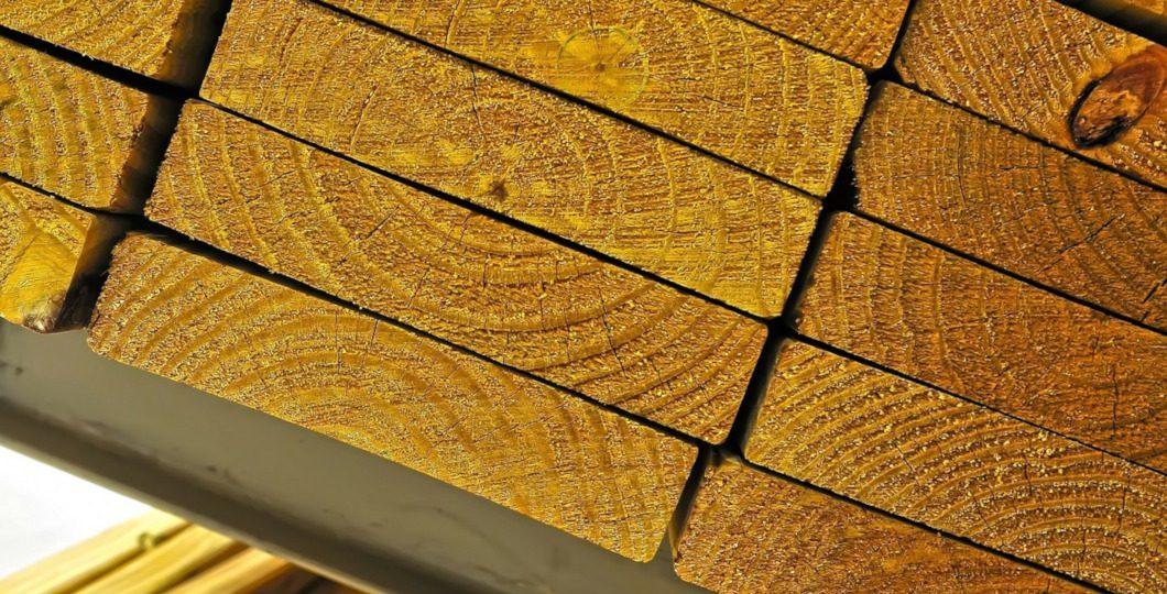 Panne bois pour toiture
