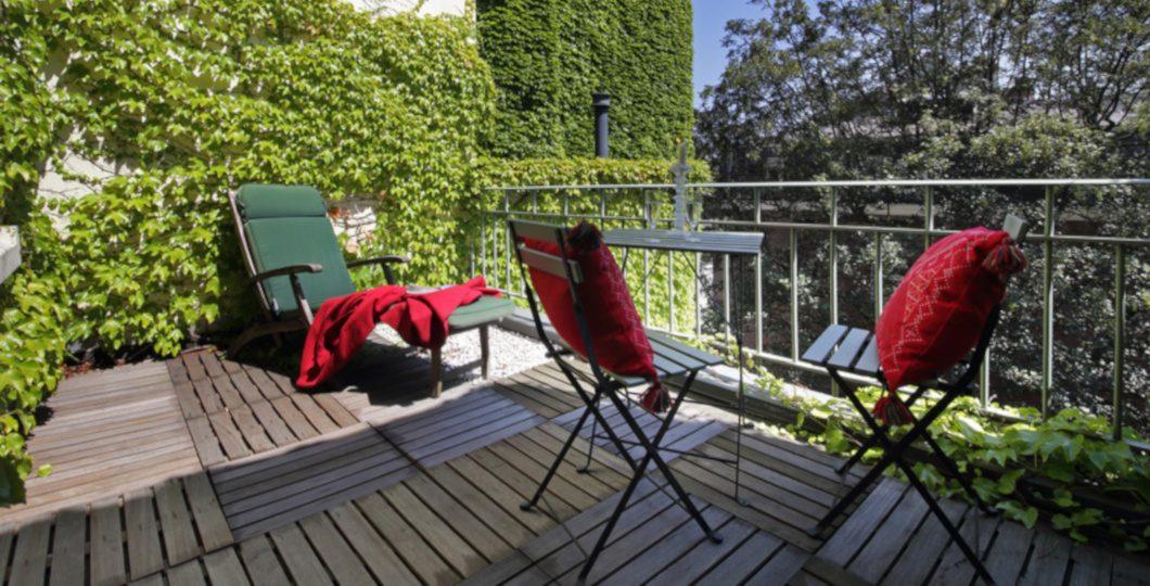 Dalle bois pour terrasse