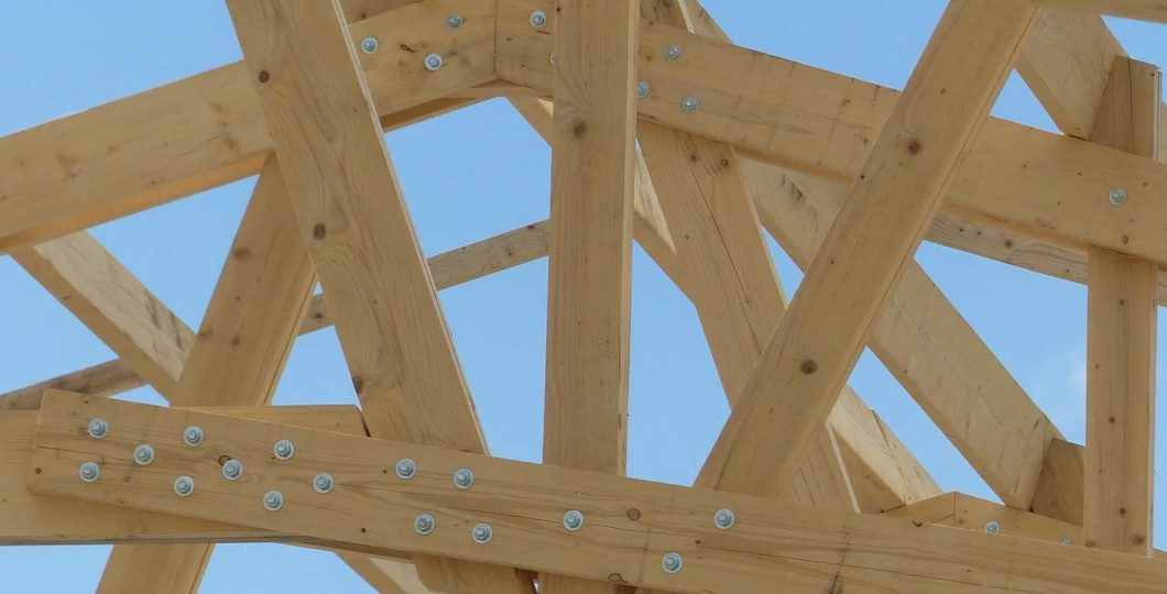 Ferme toiture bois