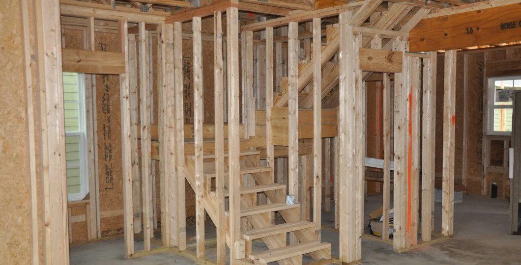 Structure madriers pour maison bois