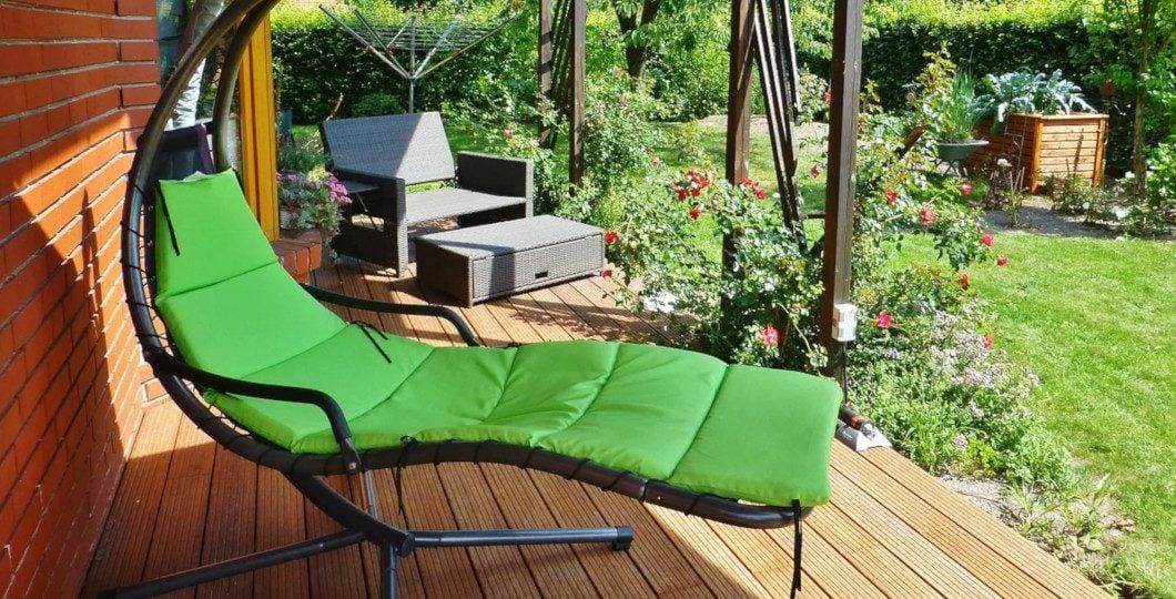 Terrasse bois transat