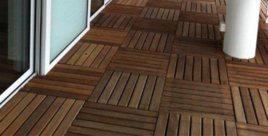 Terrasse dalles bois exotique Cumaru